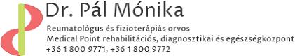 Dr. Pál Mónika reumatológus és fizioterápiás orvos